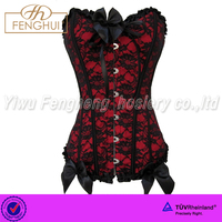 B-513 .Europe and the United States new BOW LACE American Palace corset