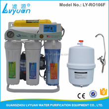 6 steps home use micron stage sink water filter/domestic ro water filter body