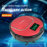 Eworld M883 Robot Vacuum Cleaner with LED screen and UV light