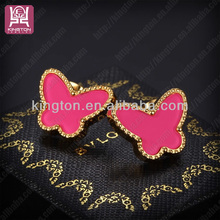 fashion wholesale butterfly earring backs