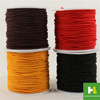 High quality new products multicolor braided polyester rope