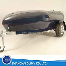 motorcycle cargo trailers fiberglass trail car frp trailing box
