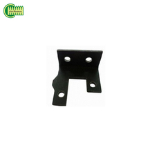 Custom shape metal beam support bracket