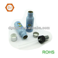 Baby skin care bottles, aluminum bottle with cap