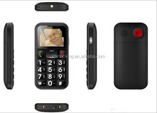 1.77 inch dual sim big button senior phone without camera