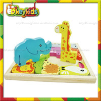 2016 wholesale wooden animal puzzle,top fashion wooden animal puzzle,wooden animal puzzle W14A156