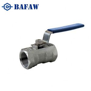 Npt/bsp/bspt thread stainless steel 3pcs ball valve