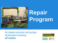 InjectionPower repair program for cr pumps