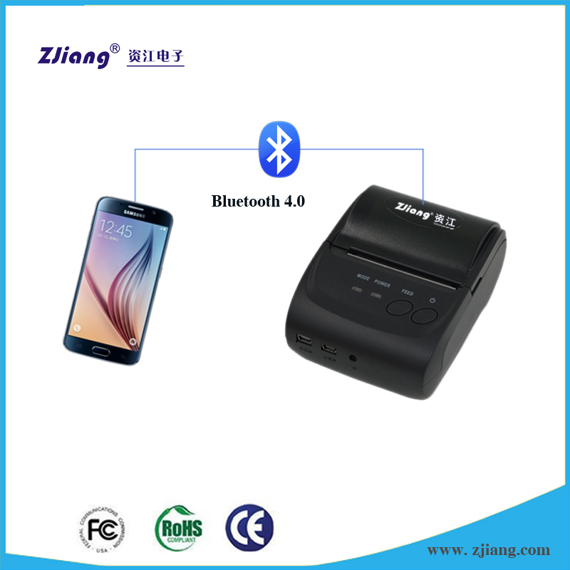 Bluetooth Wireless POS Thermal Dot Line Receipt Printer 58mm for Mobile PC USB