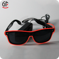 New Gift Giveaways Ideas Hot Products For 2015 El Party Costume Half Frame EL Wire Glassess