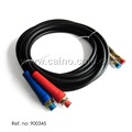 Air brake line hose Red and Blue handle