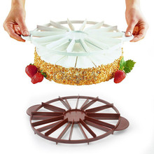 cake decorating tools plasitc pie and cake cutter divider for equal portion