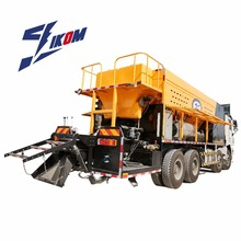 Road machinery Slurry seal micro surfacing paver machine slurry seal machine asphalt