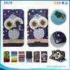 Owl Pattern Flip Leather Phone Case For Alcatel One Touch Elevate 5017B, For Alcatel One Touch Elevate Case