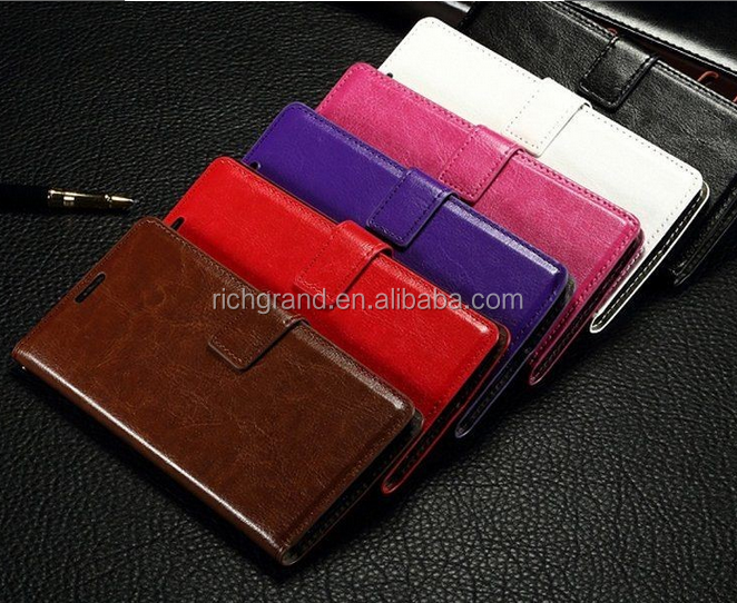 wallet Flip Leather stand Case for LG Optimus G4 H810 VS999 F500