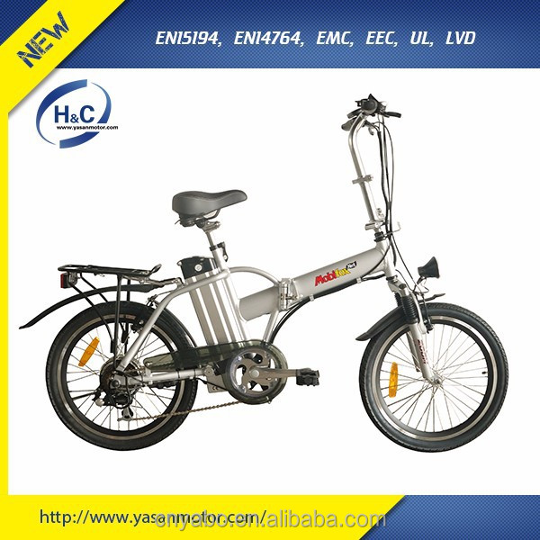 2013 Electric Folding Bicycles 36v 10ah Lithium with EN15194