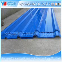 High quality YD-0222 Color coated galvanized Corrugated steel roofing sheet/ Corrugated metal roofing sheet