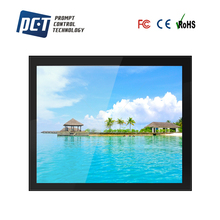 15 inch High Brightness open frame pcap LCD Touch screen rackmount monitor