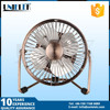 small size metal emergency solar fan with led mini charging box fan usb fan