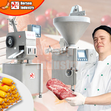 China Supply Good price Commercial automatic sausage twister/filler/filling/meat equipment/stuffer/slicer/cutter making machine