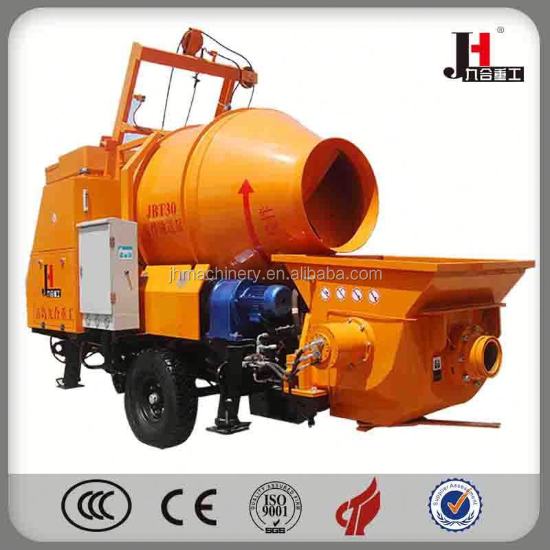 2015 Automatic Concrete Pump Mixer