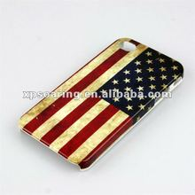 US flag hard case back cover for iphone 4g 4s
