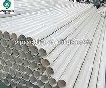 UPVC High quality plastic rainwater gutter pipes and fittings
