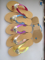 factory price flip flops woman flip flops pvc slippers