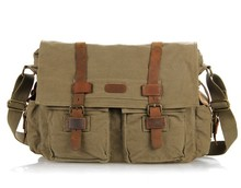 9005N Military Trend 16OZ Canvas Cross Body Bags for Men