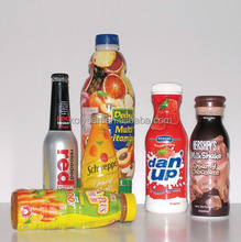 PVC bottle shrink wrap sleeves / label
