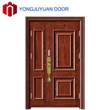 Main Entrance Safety Stainless Steel Chinese Security Apartment front Door Design