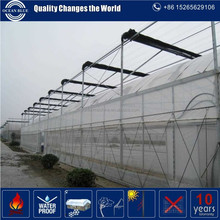 double layers inflatable agriculture film greenhouse with CE certificates