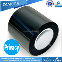 Cell phone accessory high product 4H waterproof anti-spy screen protection material film for s5