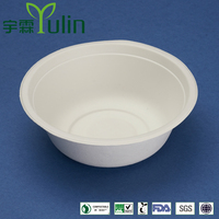 BL-50 500ml/16 oz disposable cheap thermal food serving bagasse bowls