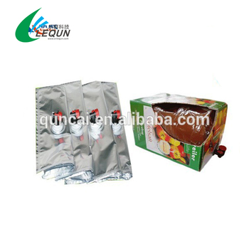 1-5L BIB Bag in Box for wine and aseptic bag
