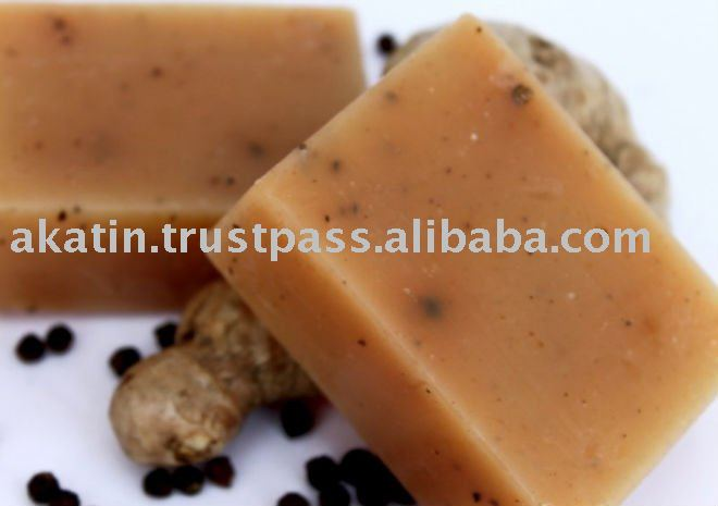 Nyah Ginger Lime Blackpepper Soap