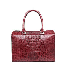 Heyco exotic genuine crocodile leather skin custom high-capacity ladies bags handbag