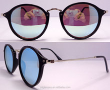 China Wholesale metal frame High Quality mirrow lenses Fashion Bifocal Sunglasses