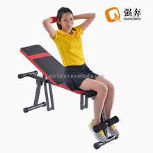 high quality portable fitness exercise weight sit up bench