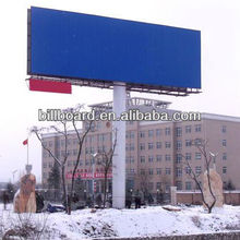 double-face small size tarpaulin outdoor billboard construction