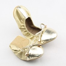 Women Folding Flat Ballet fashion ballerina shoes