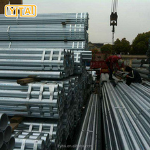 China factory high quality best price surface smooth schedule 20 galvanized steel pipe / 50mm galvanized pipe