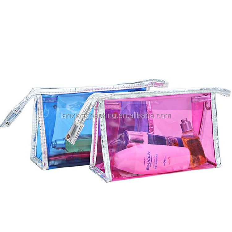 2016 New Cosmetic Bag,Cosmetic Bag with Clear Compartments
