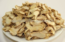 HACCP Certificate Dried Ginger Slices Vegetable Spices