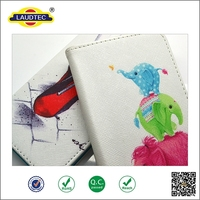 2015 New arrival! Print Floral Flip Wallet Leather Case For Sumsung galaxy S5