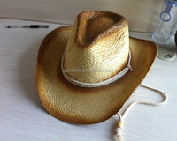 Elegant purple cowboy hat