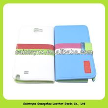 13112 Newest design PU Leather case for sumsung galaxy note2 n7100