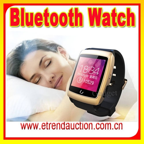 Android IOS GPS Tracker WIFI Bluetooth Smart Watch U18 For IOS Android Dual-core ROM 4GB Touch Screen Internet Smartwatch