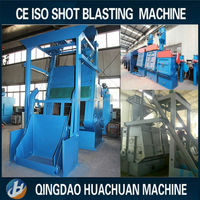 Auto Loading Tumble Belt Shot Blasting and Cleaning Machine for the Fittings