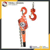manual portable VA 3.2 t lever lifting pulley chain block mechanism